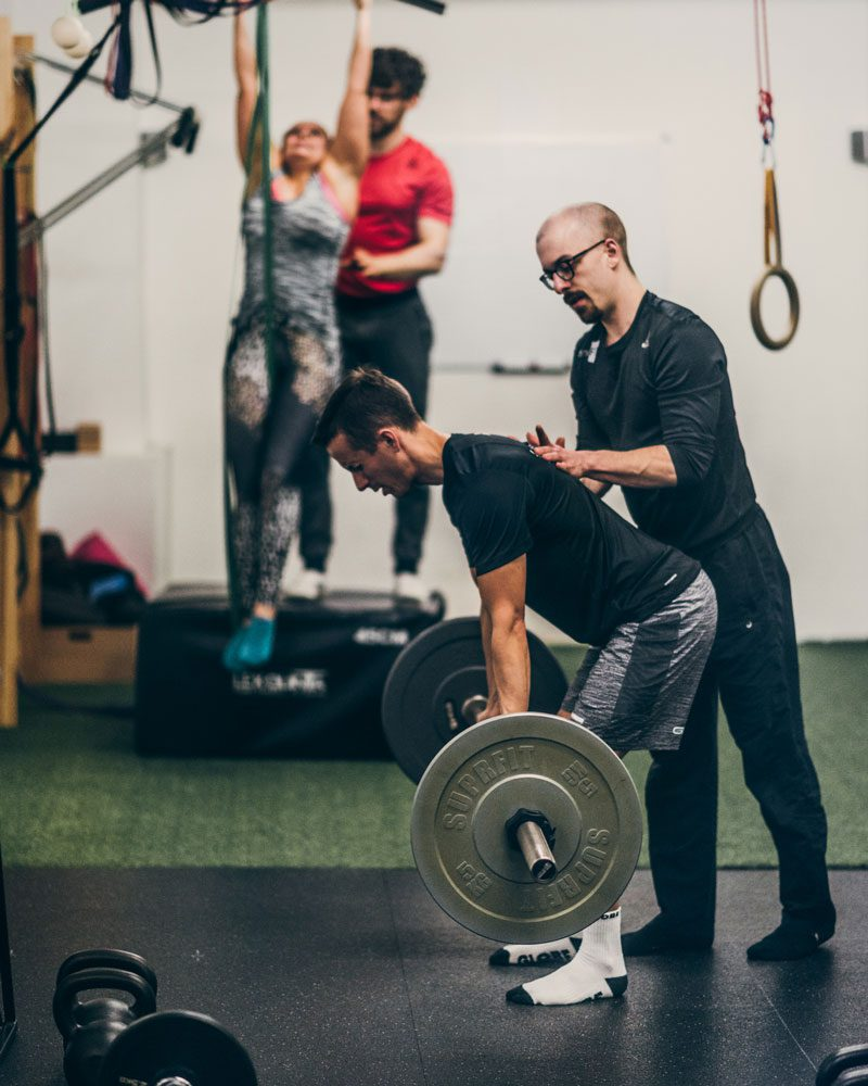 Professionelles Personal Training in Kleingruppe